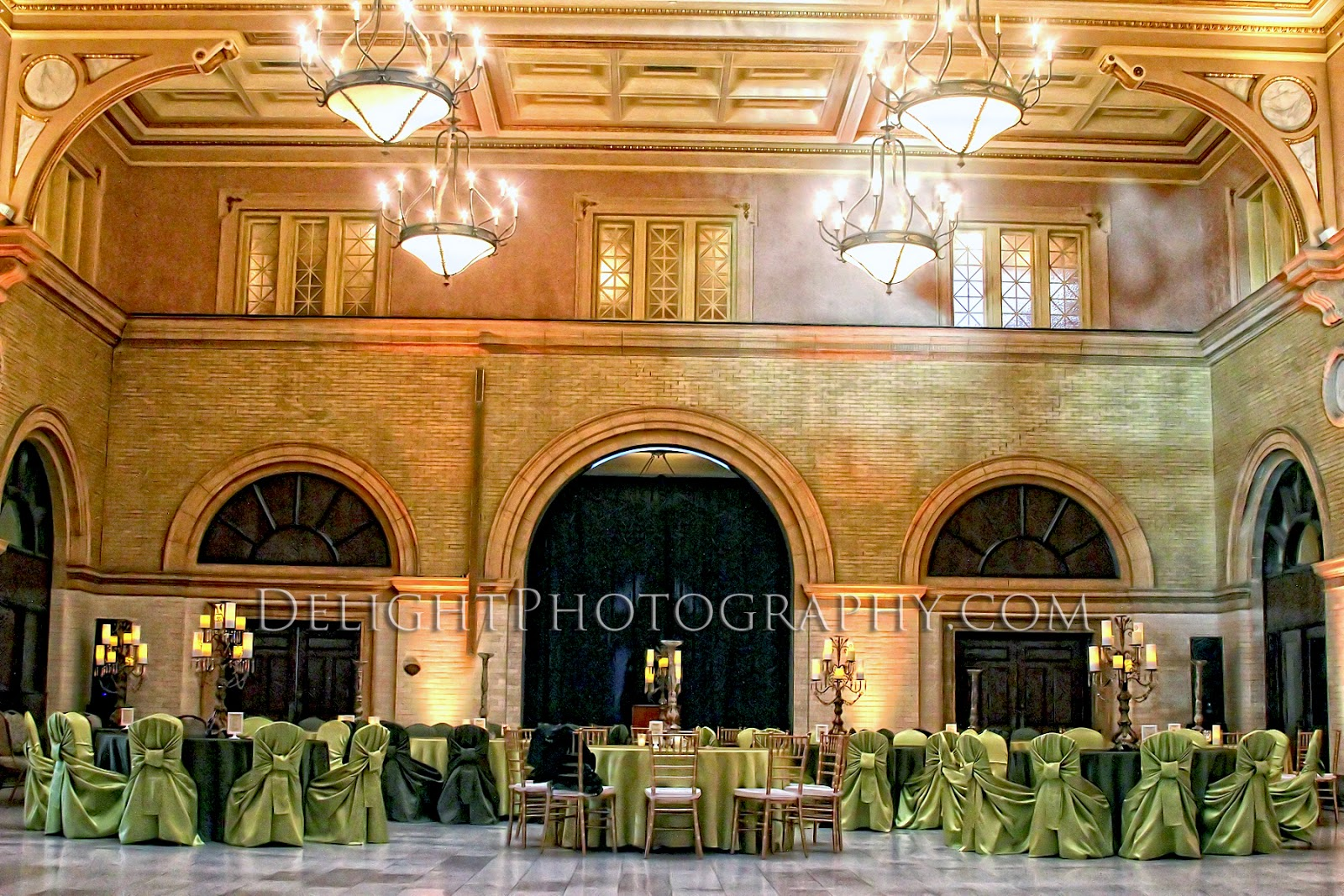 We specialize in hall decorations and wedding rentals, including set up and take down at no additional cost.